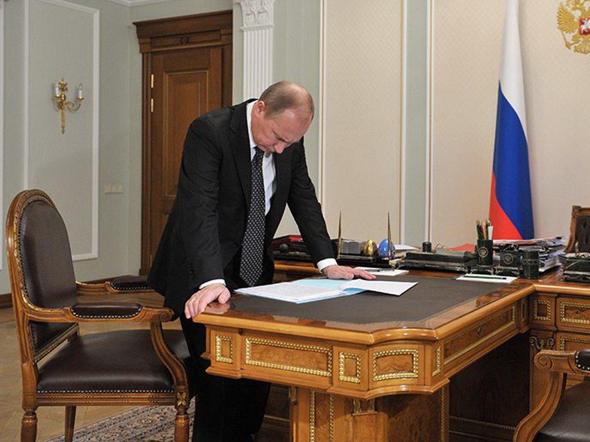 Тайна комната Путина в кабинете