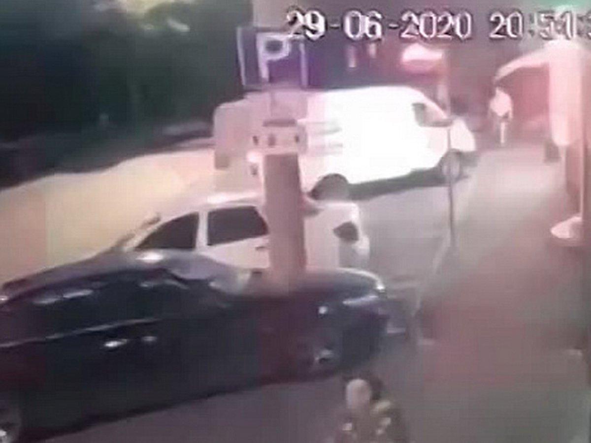 Расстрел бизнесмена на Кубани попал на видео