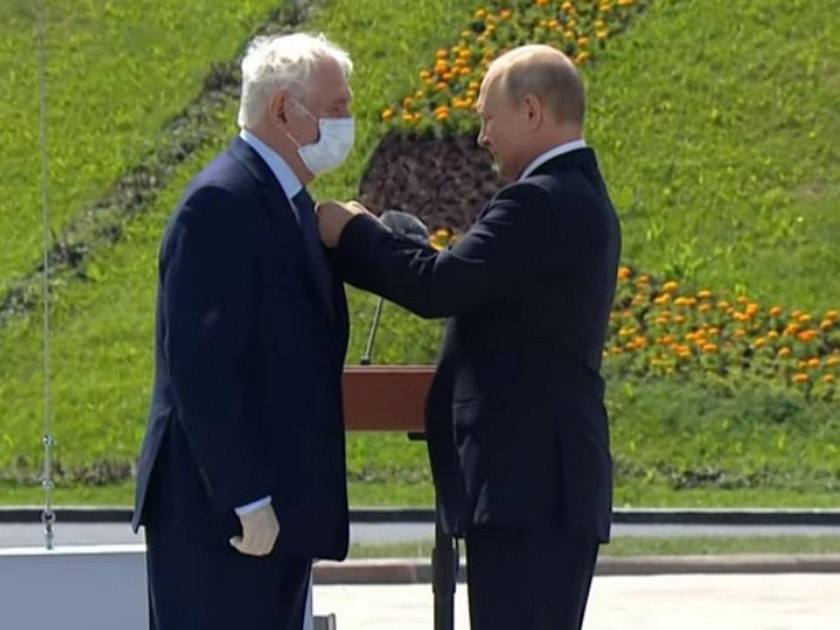 Рошаль пожаловался Путину