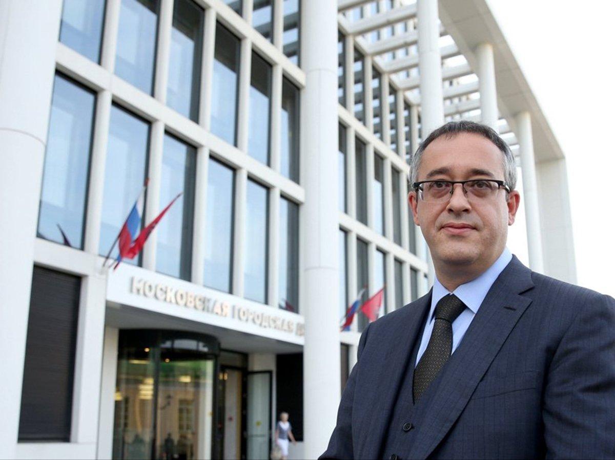 Спикер Мосгордумы Алексей Шапошников