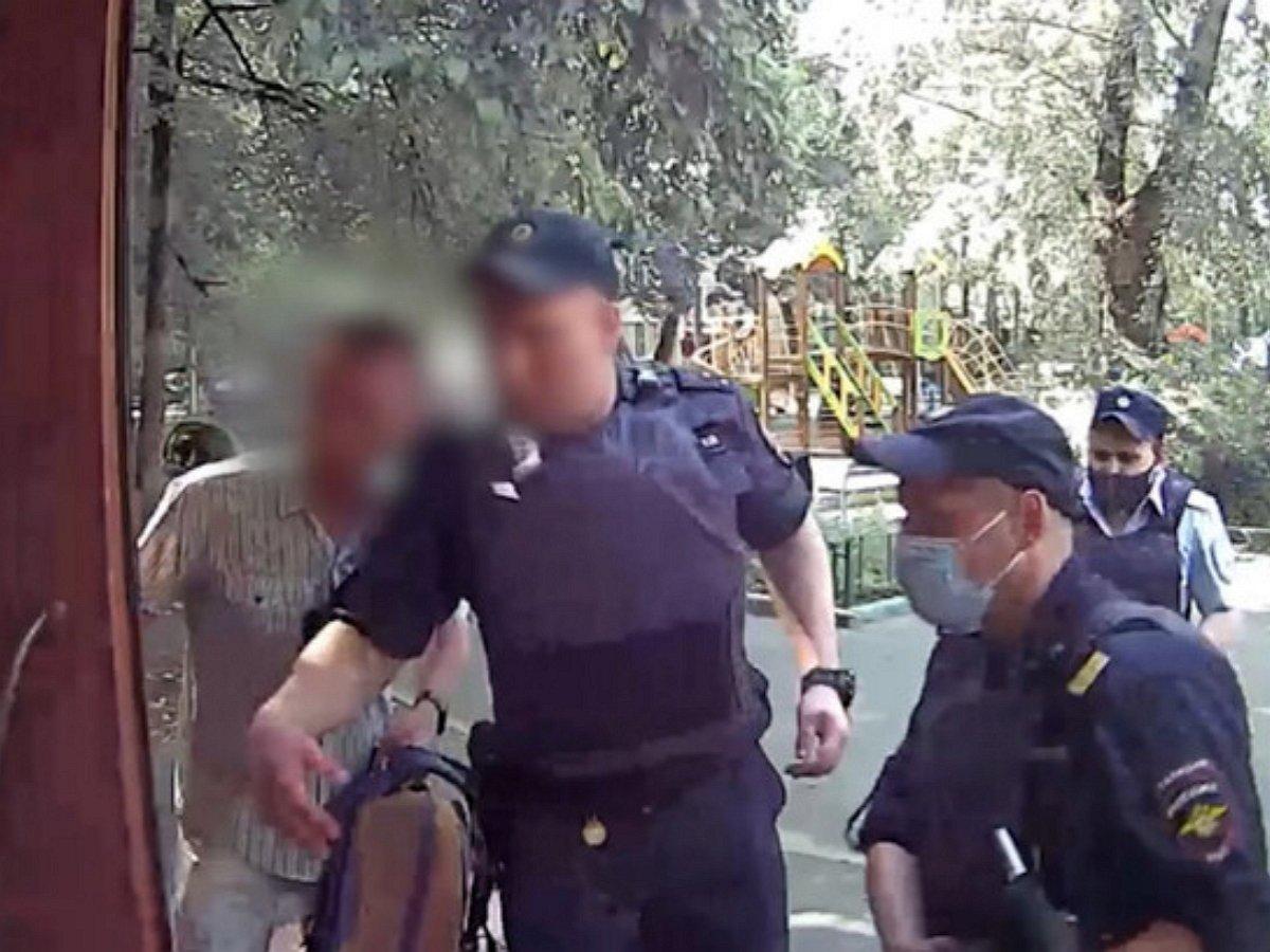 Опубликовано видео с места стрельбы в мск