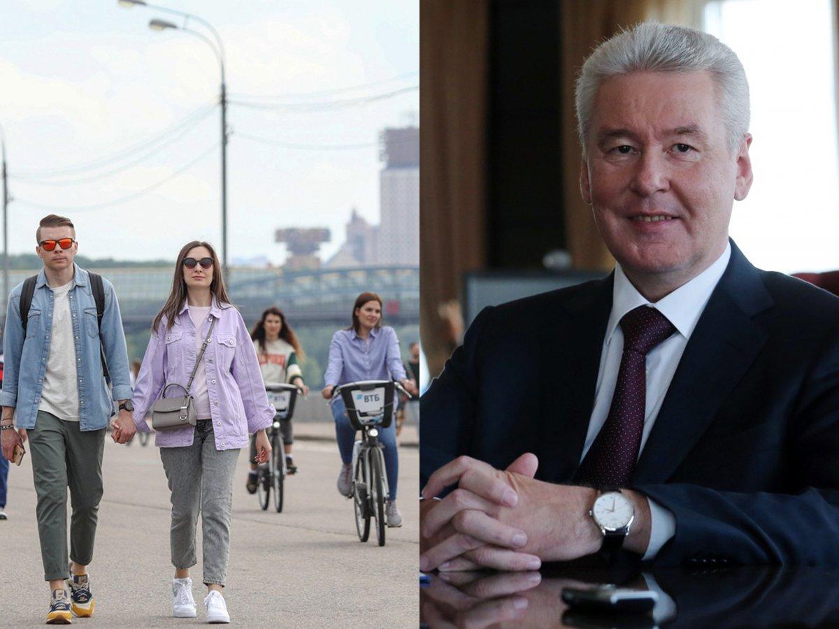 Собянин ускорил снятие ограничений в Москве