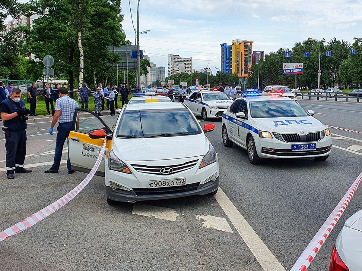 Стрельба в Москве попала на видео