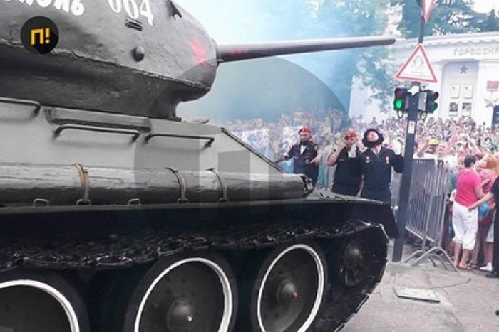 Т-34 на параде Победы
