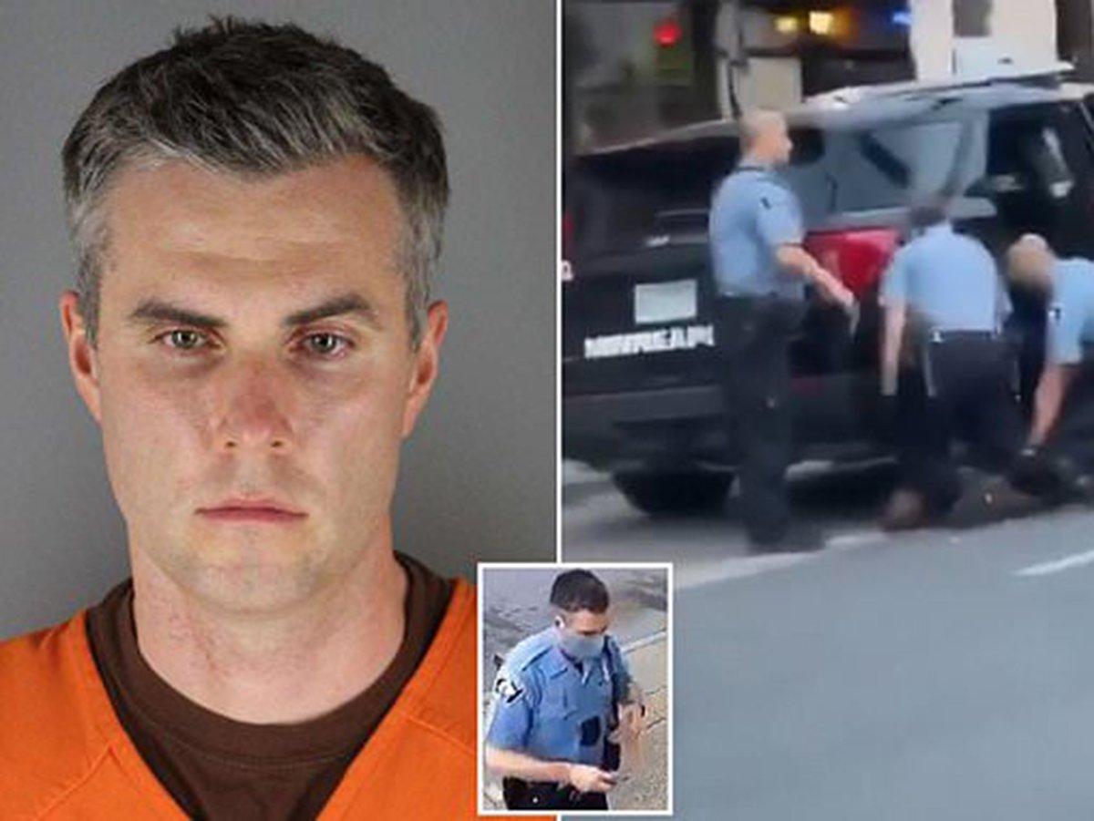 В США полицейского Томаса Лейна отпустили под залог