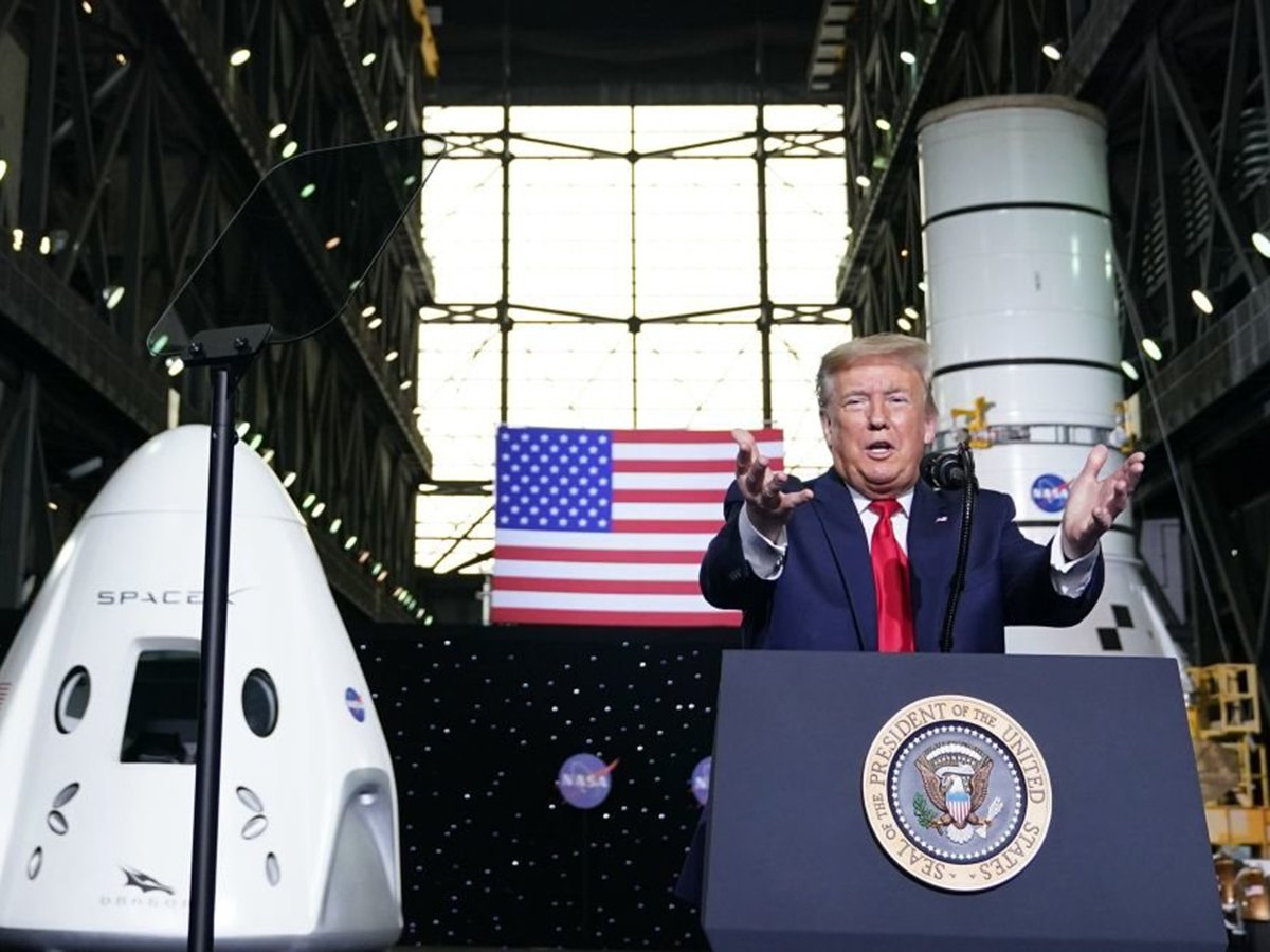 Трамп о SpaceX