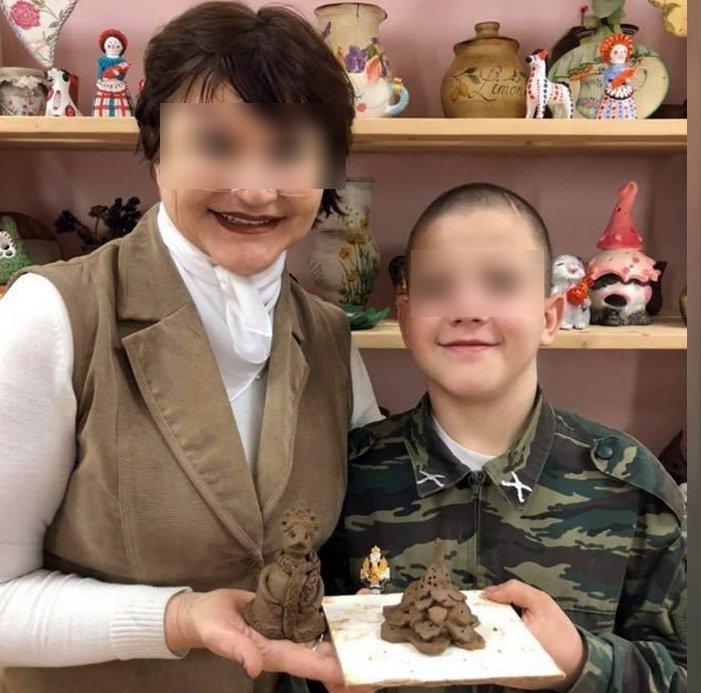 Убила гантелей 12-летнего сына