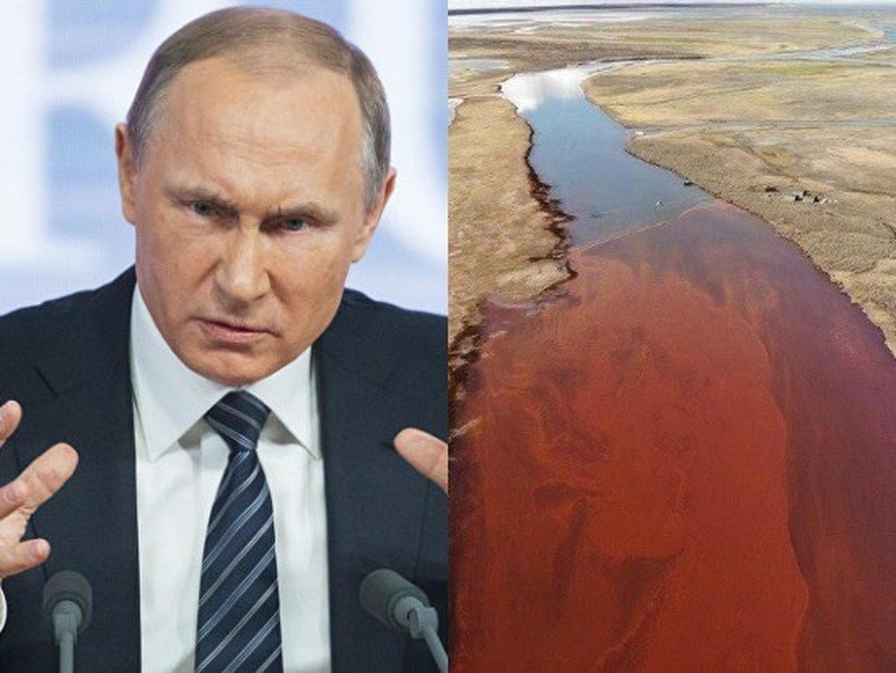 Путин отчитал губернатора Усса за ЧП в Норильске