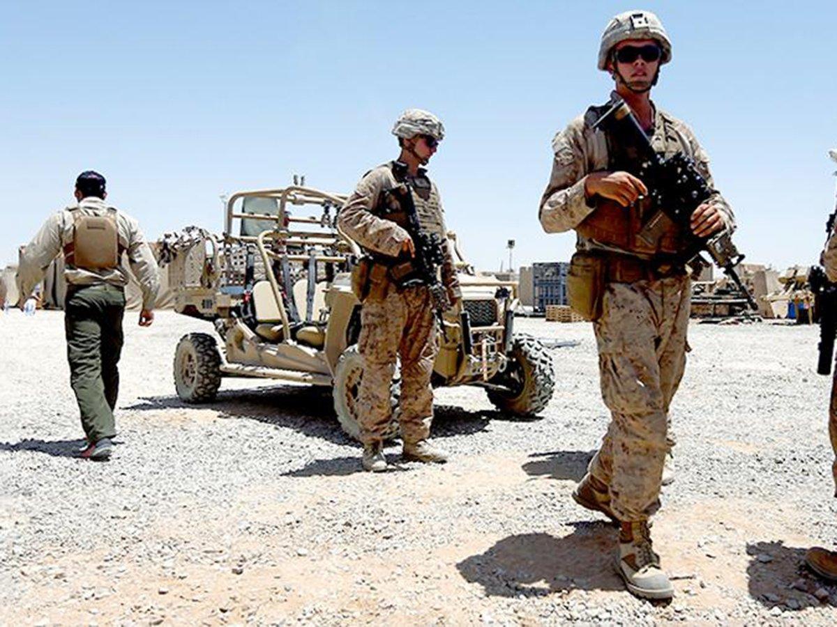 Военные в США Талибан