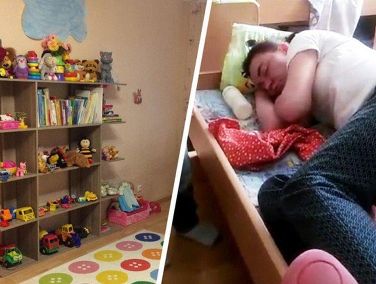 На Урале пьяная воспитательница детсада уснула в кроватке ребенка