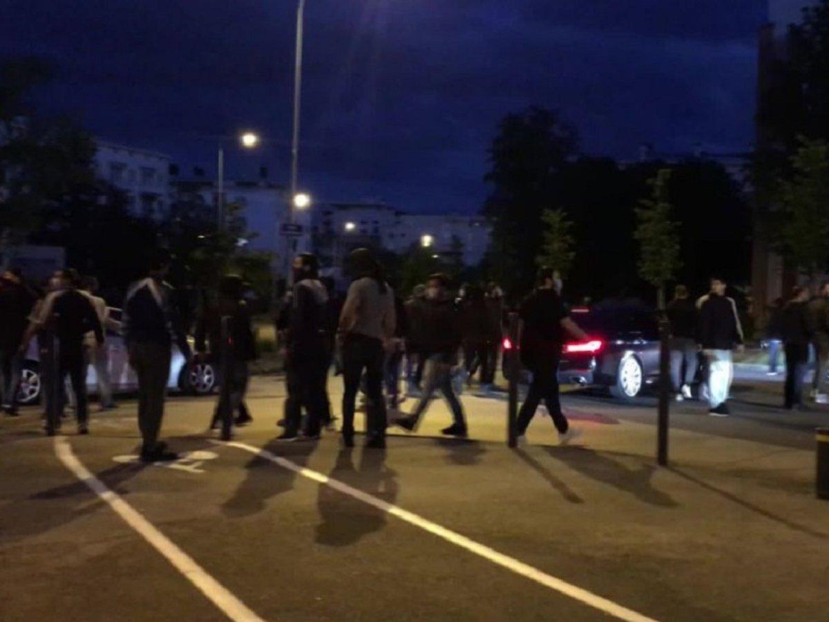 Во Франции чеченцы устроили беспорядки из-за конфликта с наркоторговцами