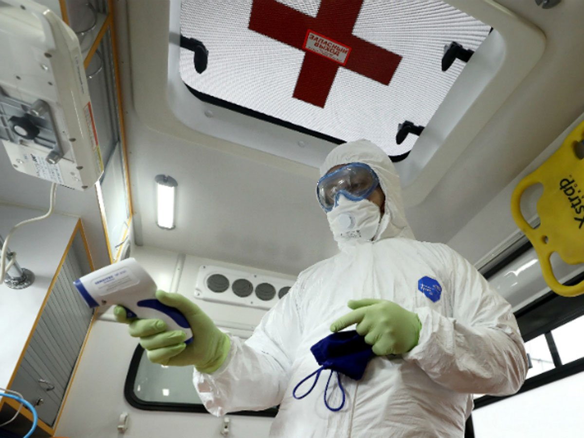 В России зафиксировано 6693 новых случая коронавируса за сутки
