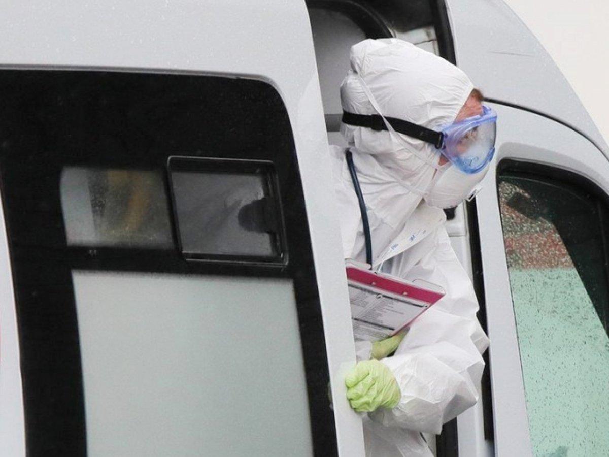 За сутки в России прибавилось более 8 000 зараженных COVID-19