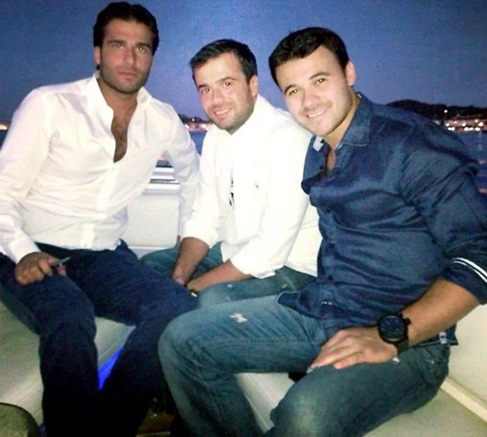 Эмин Агаларов с друзьями