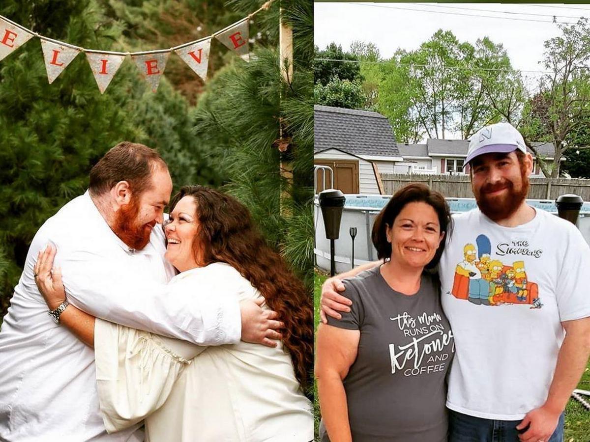 Семейная пара сбросила более 130 килограммов на двоих