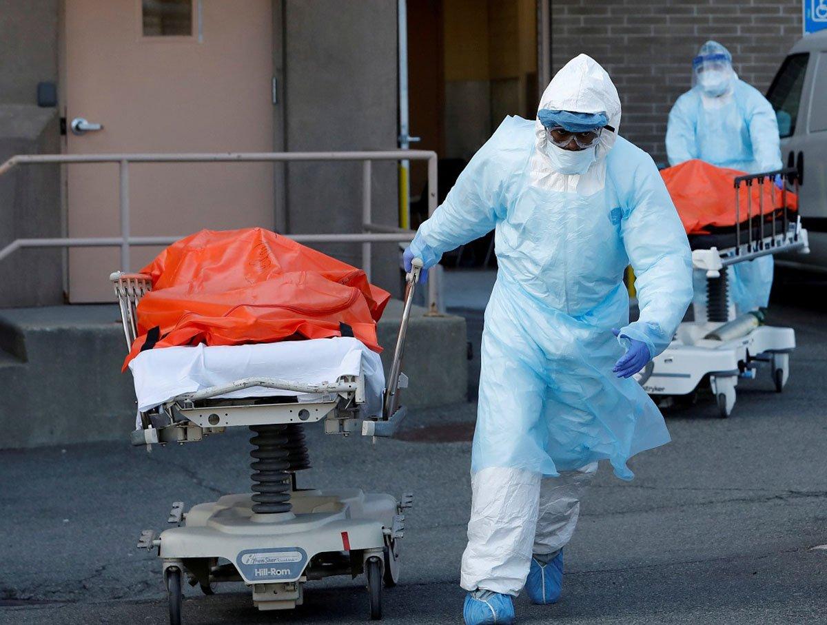Ученые сообщили о смерти от коронавируса с отрицательными тестами