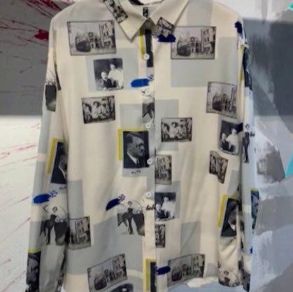 Московский шоурум продавал блузку с Гитлером