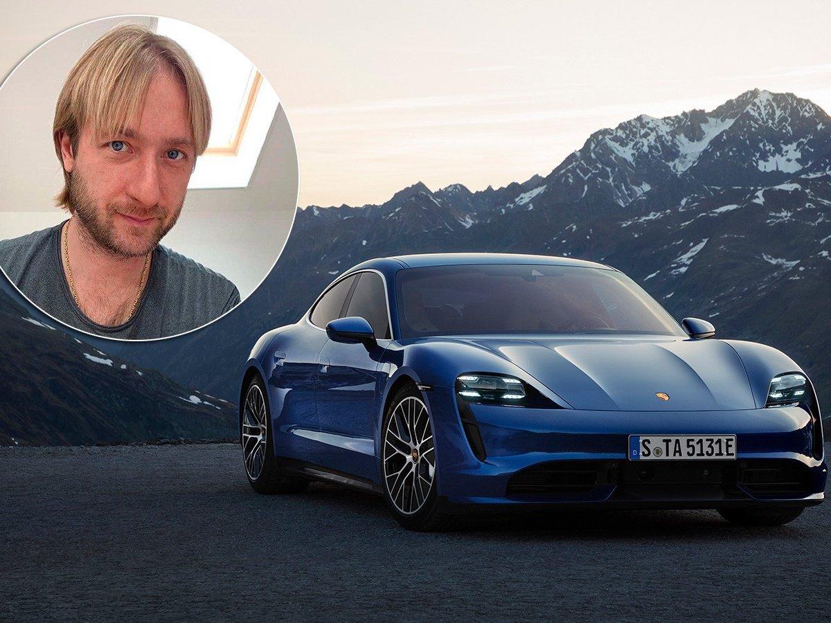 Евгений Плющенко похвастался новой машиной