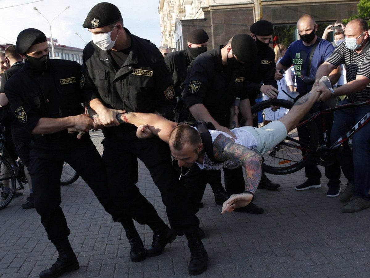 Выборы в Белоруссии 2020: протесты и митинги