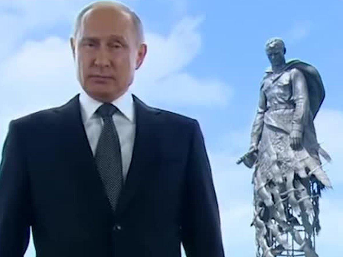Путин выступил с самым коротким обращением о голосовании