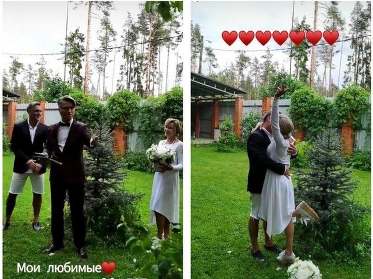 Родители Влада Соколовского сыграли свадьбу спустя 30 лет