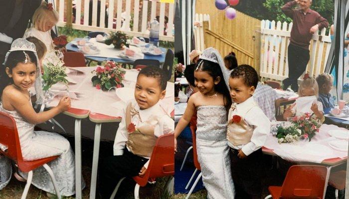 Свадьба в детском возрасте
