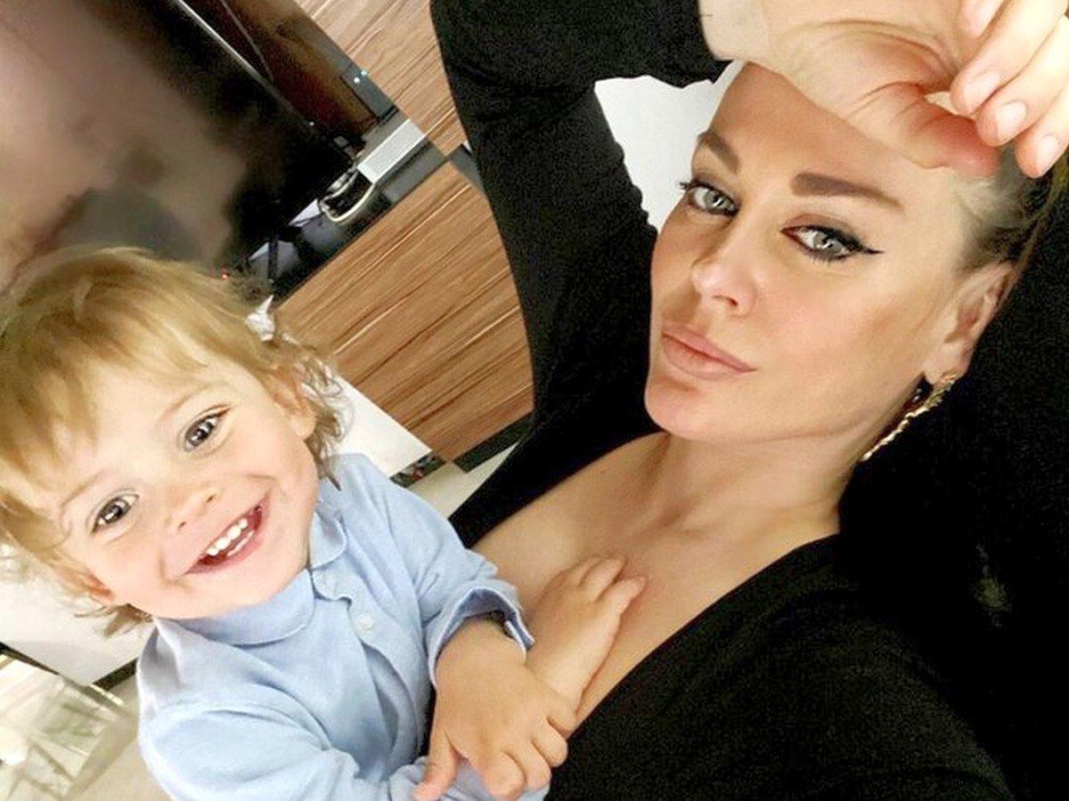 Таня Терешина обнародовала видео с сыном