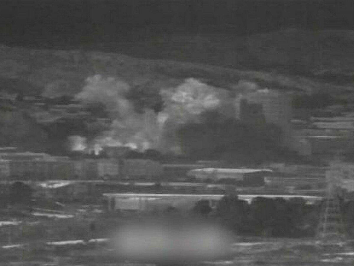 Взрыв в КНДР межкорейского узла связи