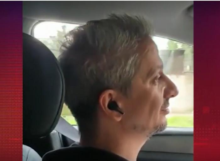 Богомолов водит машину