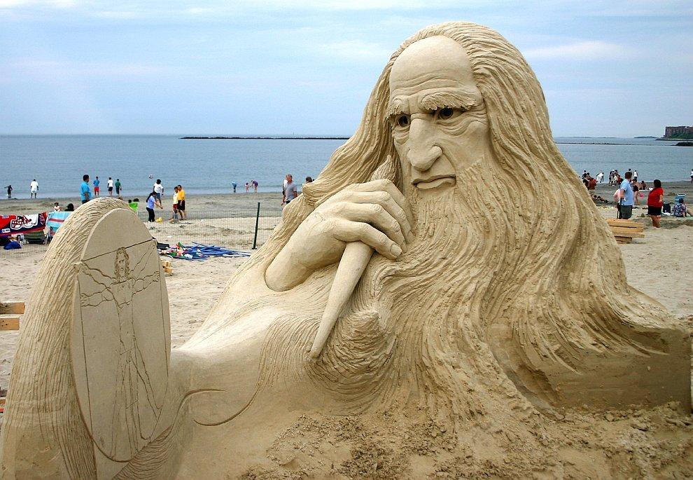 Песчаные скульптуры, которые не могут не восхищать