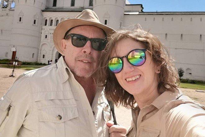 Молодая жена Макаревича опубликовала первое фото с ним