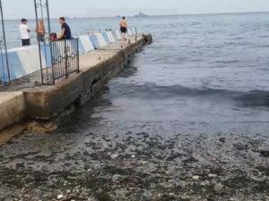 Крым залило отходами