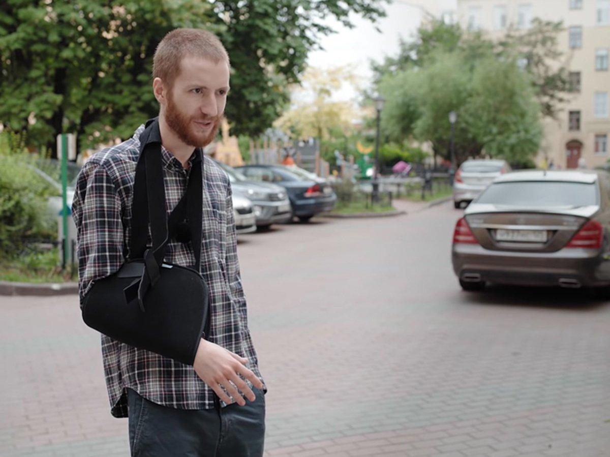 Журналиста Медиазоны Давида Френкеля оштрафовали на 2500 рублей