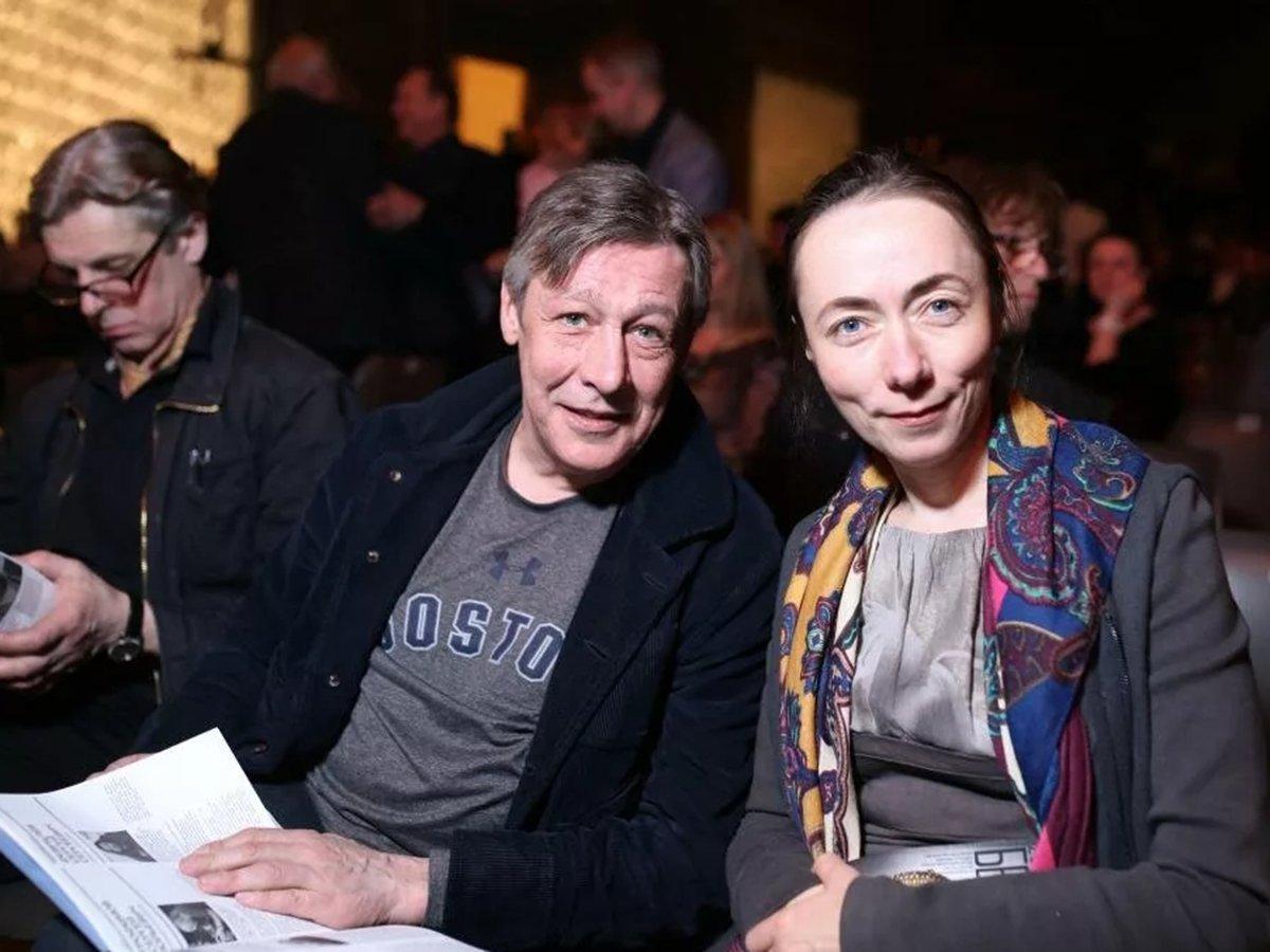 Михаил Ефремов и Дарья Кругликова