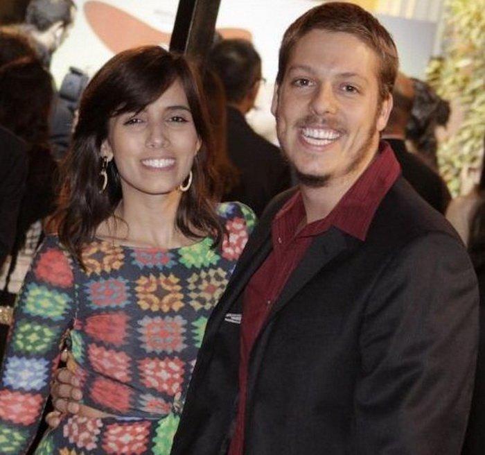 Фабио Порчат с женой