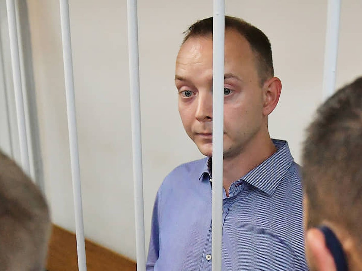 Главреды и журналисты крупных СМИ России поручились за Сафронова