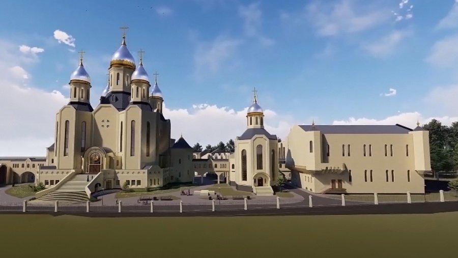 В Бутово начали строительство храма олимпийцев