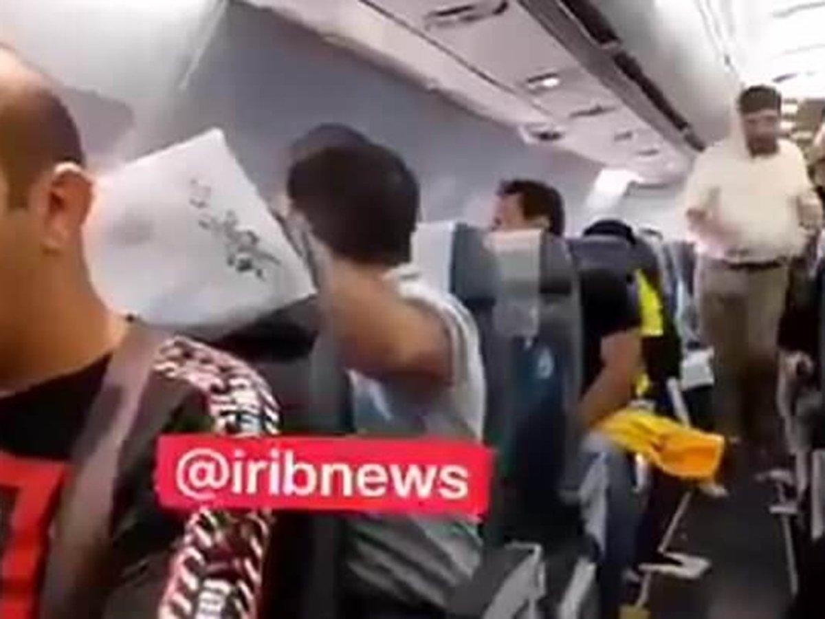 Американский истребитель F-16 перехватил самолет Ирана