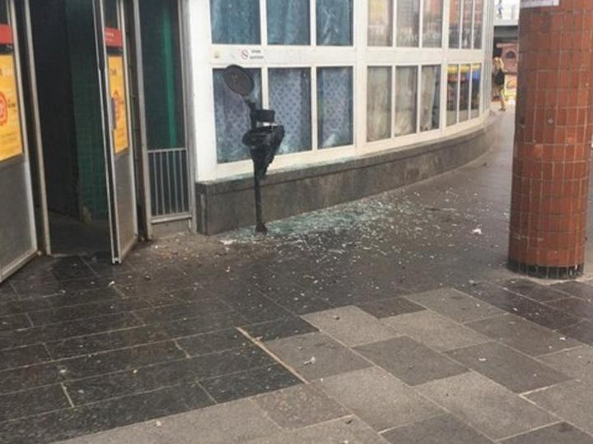 Киев, взрыв, метро