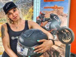 Блогер Ксения Никитина разбилась на мотоцикле