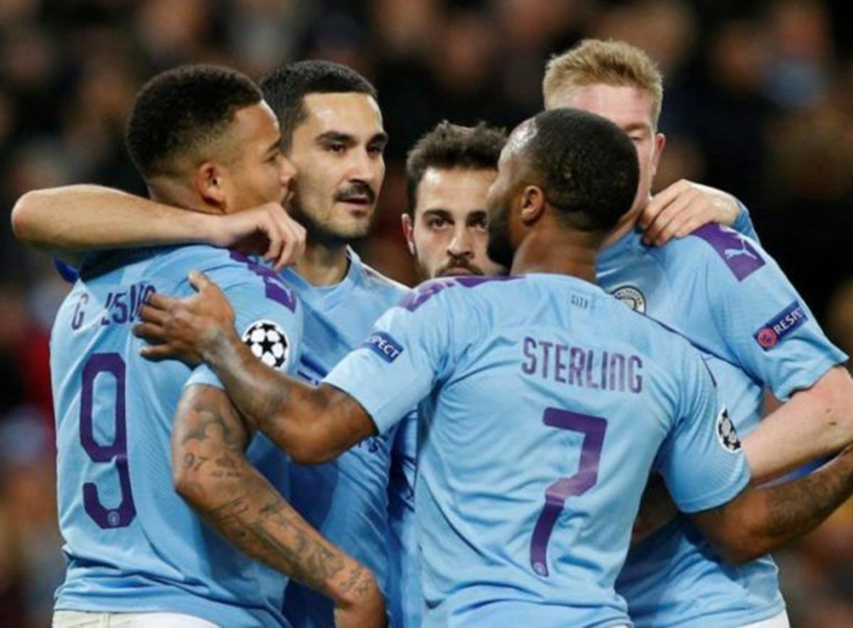 Манчестер Сити Лига чемпионов