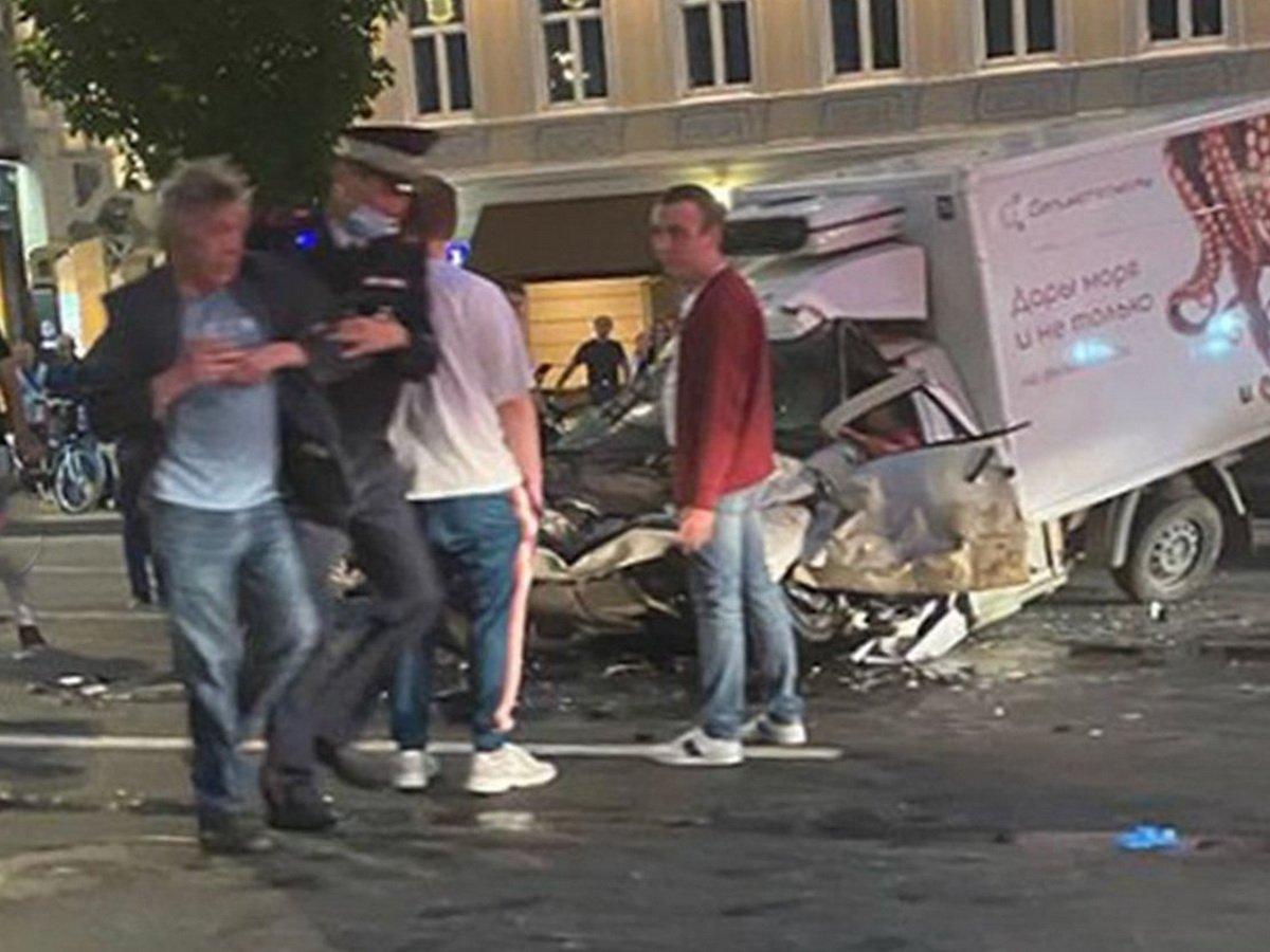 Михаил Ефремов после аварии