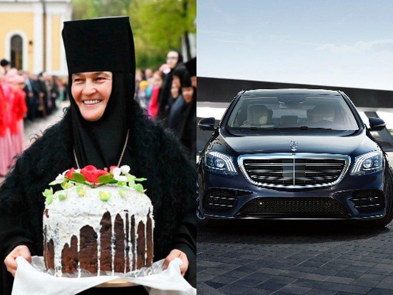 Настоятельница московского монастыря купила Mercedes-Benz за 10 млн