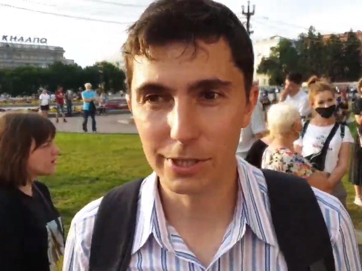 Ведущего Штаба Навального Дмитрия Низовцева избили в Хабаровске