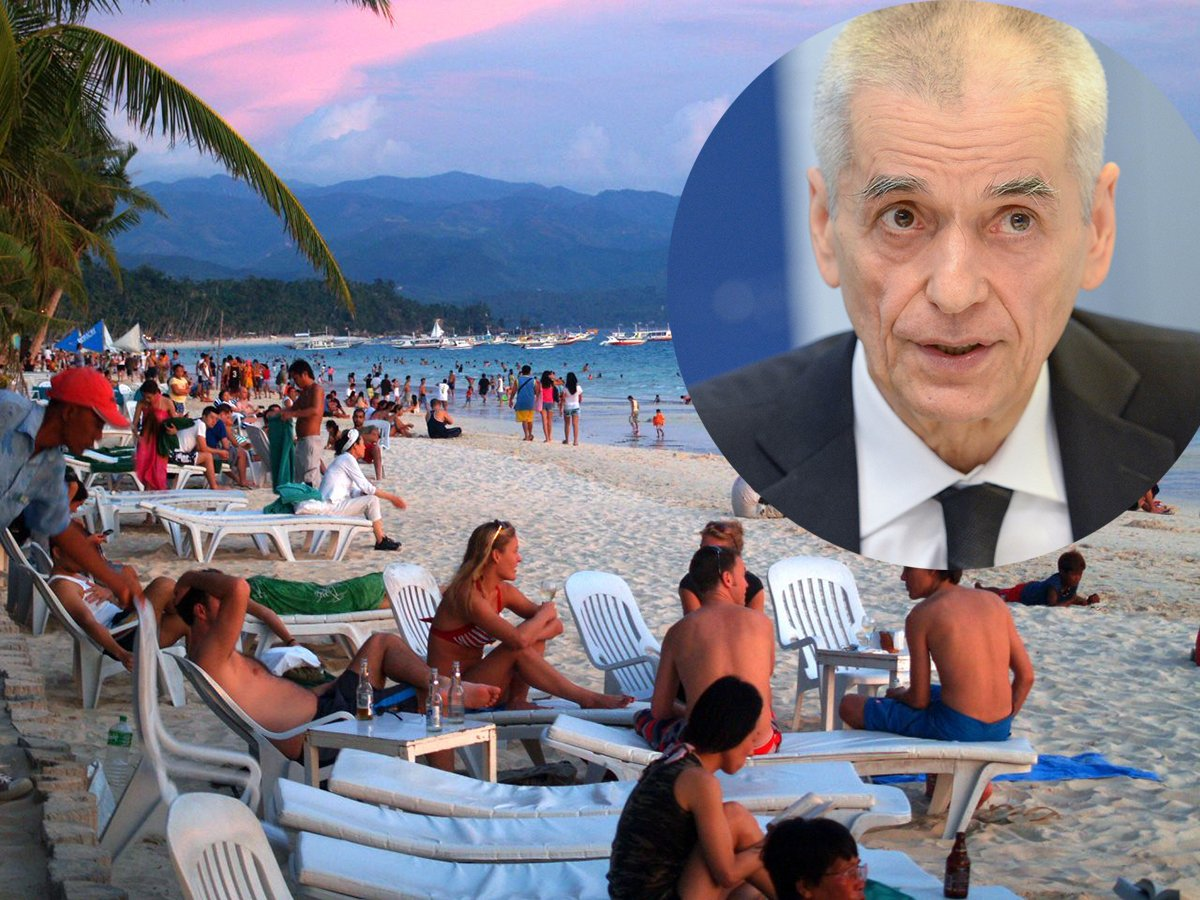 Онищенко предупредил об опасности отдыха в Турции