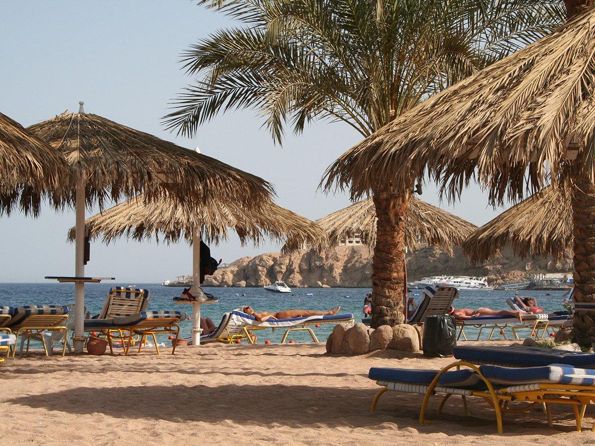 Пляж Египта