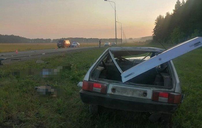 Подростки разбились в аварии