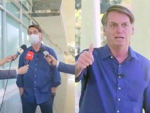 «Все хорошо»: зараженный COVID-19 президент Бразилии на публике снял маску