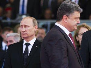 Разговор Путина и Порошенко