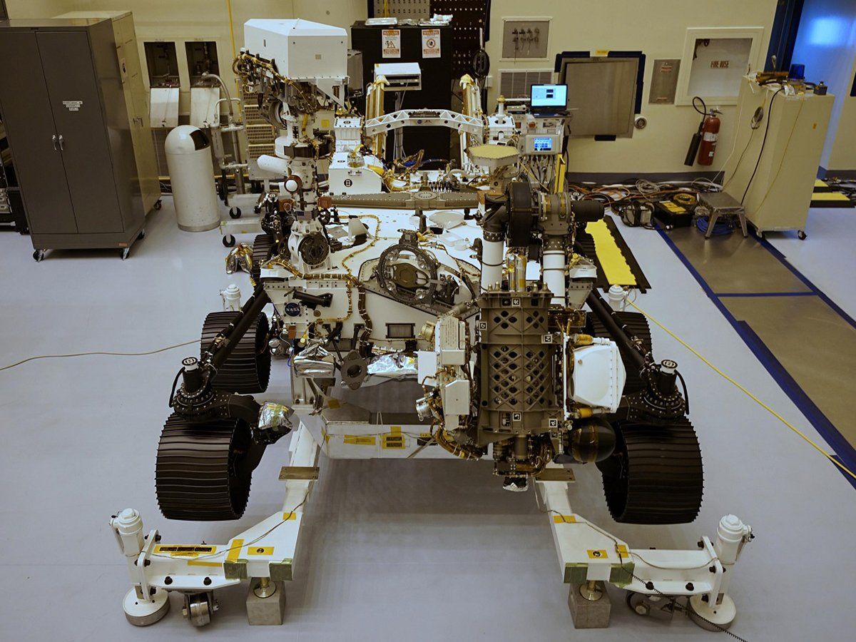 Новый ровер NASA Персеверанс